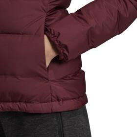adidas TERREX Helionic Kurtka puchowa z kapturem Kobiety, maroon